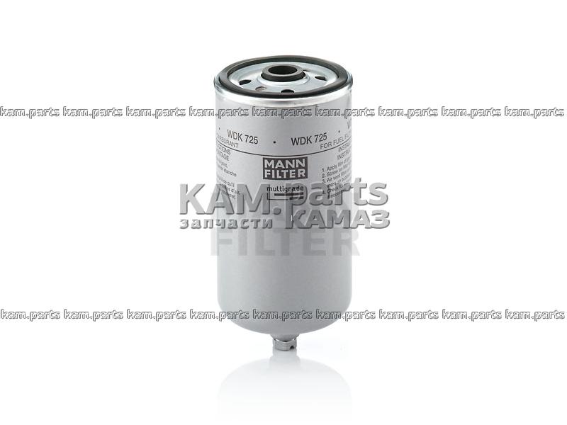 Фильтр тонкой очистки топлива WDK725 (аналог 51.12503.0040) MANN+HUMMEL, Германия
