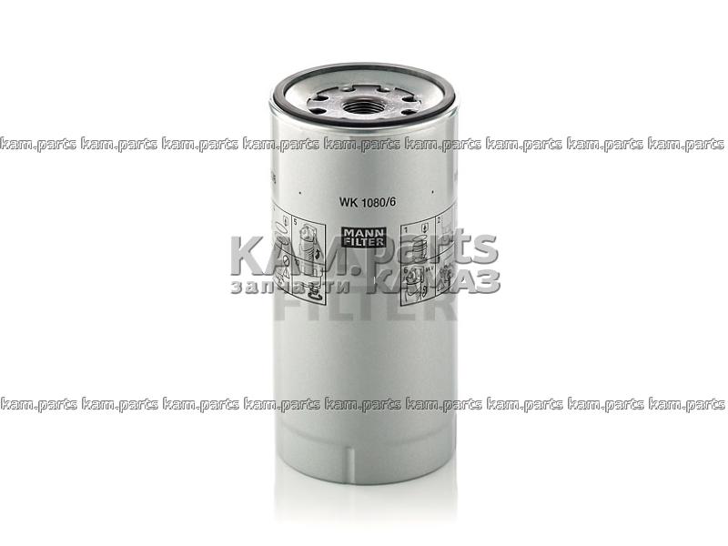Фильтр топливный WK1080/6X (аналог 1780730) MANN+HUMMEL, Германия
